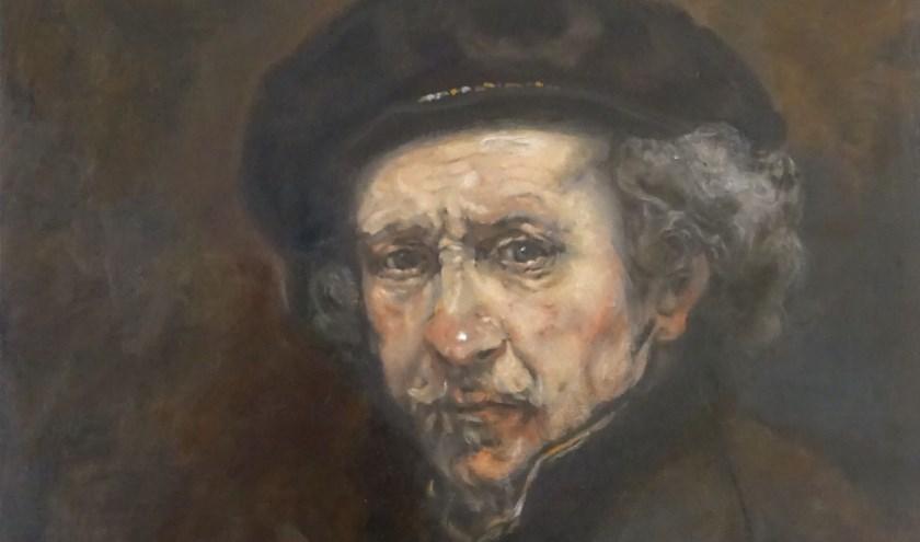 Hanneke Nijboer uit Tilburg is met haar werk, een zelfportret van Rembrandt, uitverkozen.
