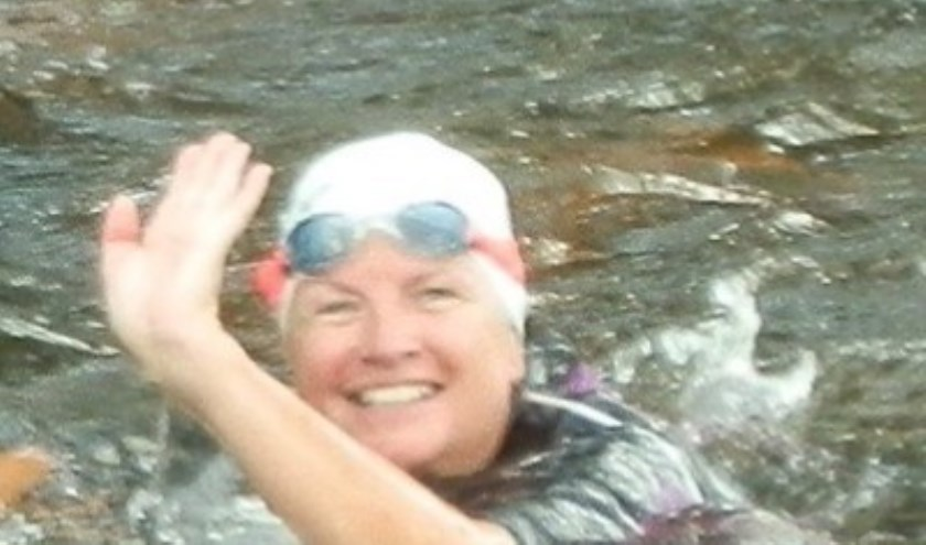 Anja bij de Swim in 2016.