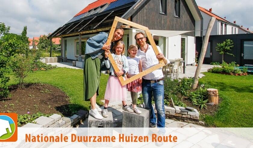 Al meer dan 1500 duurzame huiseigenaren laten hun woning zien op www.duurzamehuizenroute.nl. Foto: Nationale Duurzame Huizen Route