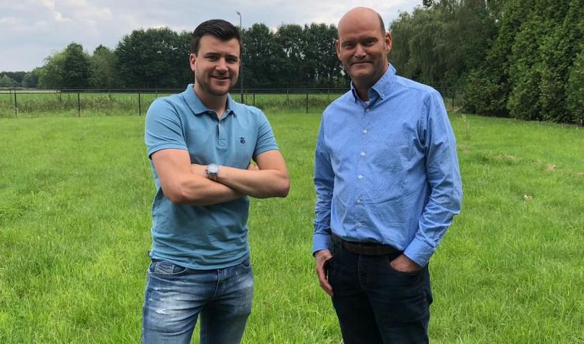 Sander Antonis (l) en Jos van Daele hebben ervoor gezorgd dat de starterslening in Veldhoven weer is ingevoerd.