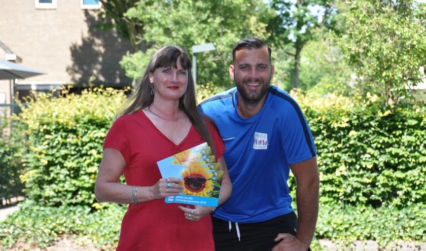 Wilma va Poelgeest en Niels van Veelen. FOTO: Julie Houben