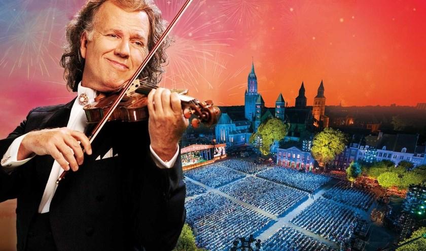 De registratie van André Rieu's concert in Maastricht is deze week ook in Kinepolis Enschede en ZINema Nijverdal te zien.