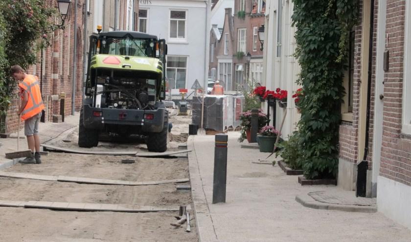 De Achterstraat in Culemborg wordt helemaal opnieuw ingericht.