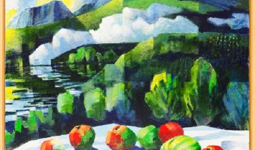 Landschap met appels