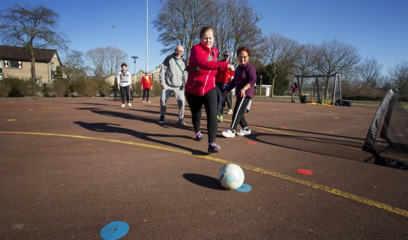 Kennismaken met verschillende 'Walking Sports' kan op vrijdag 12 juli. Foto: Gerard van Hal Fotografie.