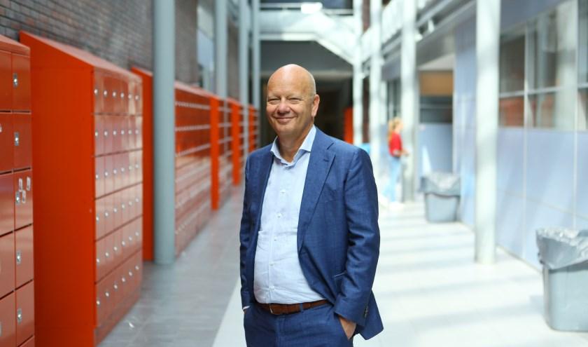 Locatiedirecteur Han Koebrugge is trots op 'zijn' Kalsbeek College locatie Schilderspark.