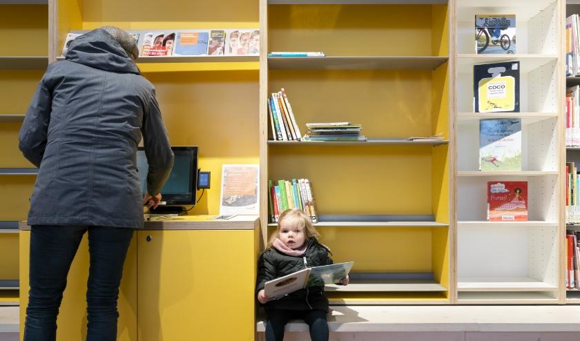 Boeken lenen in de bibliotheek van Capelle kan binnenkort weer. (Foto: Martijn Steiner Lovisa, tekst: Annemarie van der Ploeg)
