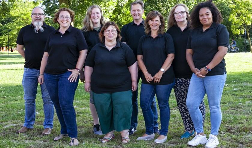 Het bestuur van Stichting Vrij Spel. (FOTO: Cees van Meerten)