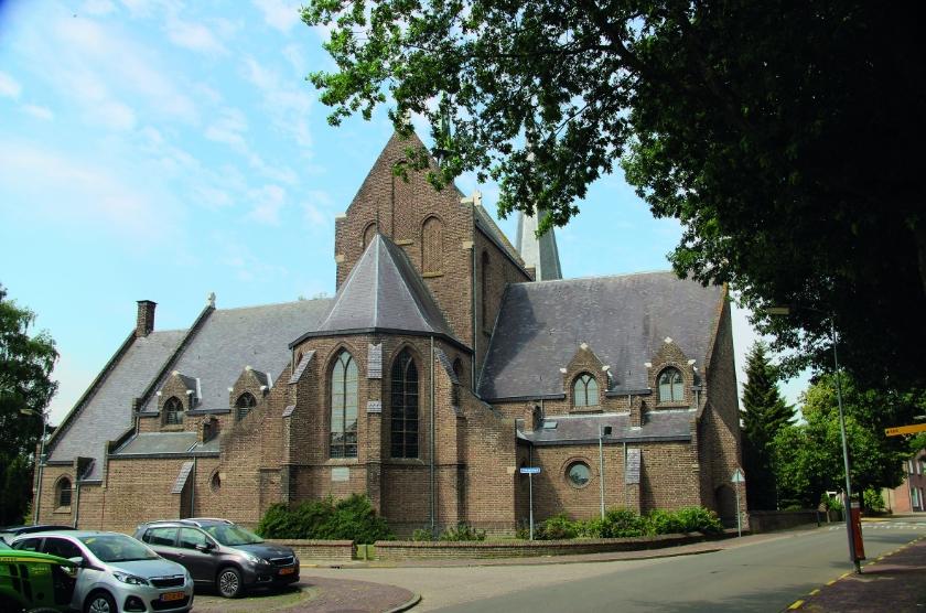 De kathedraal van de Liemers in Groessen.