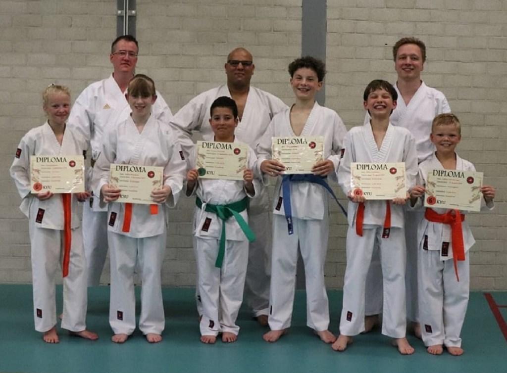 Karateka's jeugd. Foto: Patricia van der Voort © DPG Media