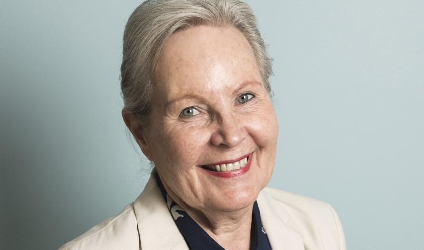 Gerda van Cappellen (77) ging na haar VUT weer aan de slag. Foto: Chris van Houts.