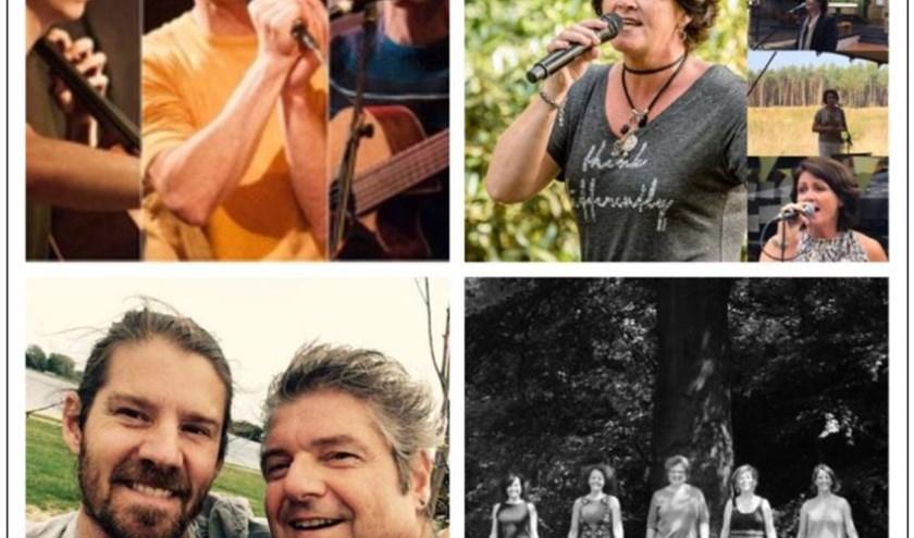Voor het 6e jaarklinkt er weer heerlijke muziek rondom het terras van Grotto in de Oude Warande @stadsbos013