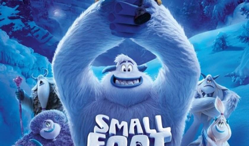 Vrijdag 23 augustus draait om 14.00 uur de film Smallfoot (6+) in de Biblioscoop.