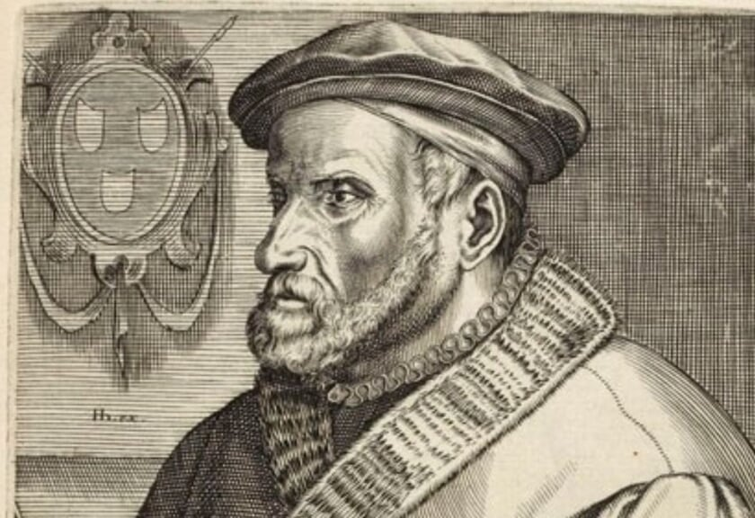Een portret van Lucas Gassel.