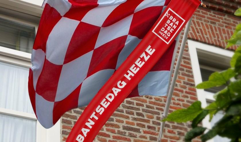De Brabantsedagwimpel in de nieuwe huisstijl.