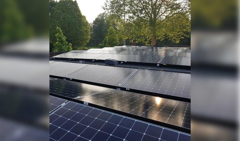 <p>Bedrijven hebben vaak grote en geschikte daken waar veel zonnepanelen op kunnen. Foto : Martijn Elbers&nbsp;&nbsp;</p>