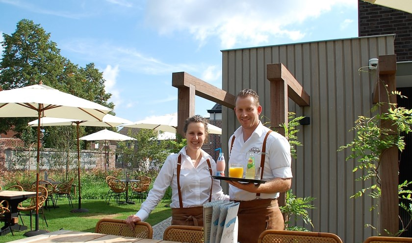 Vivian Bressers en Koen Smits runnen de nieuwe lunchroom Meesterlijk, waar tal van topkwaliteit producten aftrek vinden, waaronder het ambachtelijke ijs van 'Maestro' Hans Kennis.
