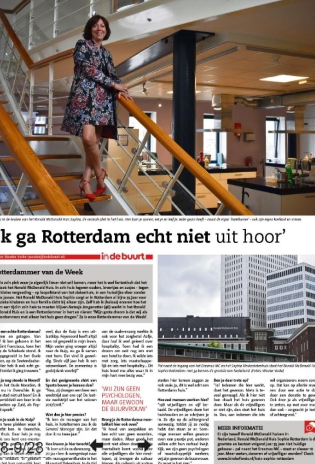 De Rotterdammer van de Week van vorige week.  © DPG Media