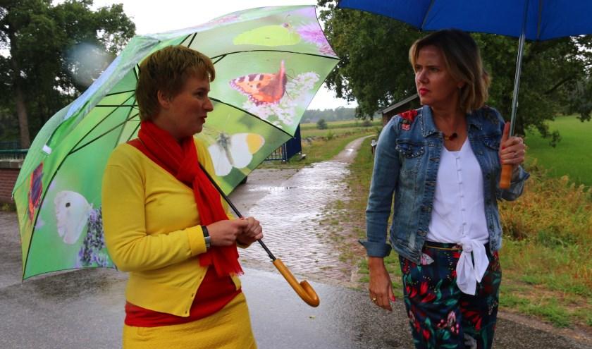 Coravan Nieuwenhuizen en Leonie Vrieze