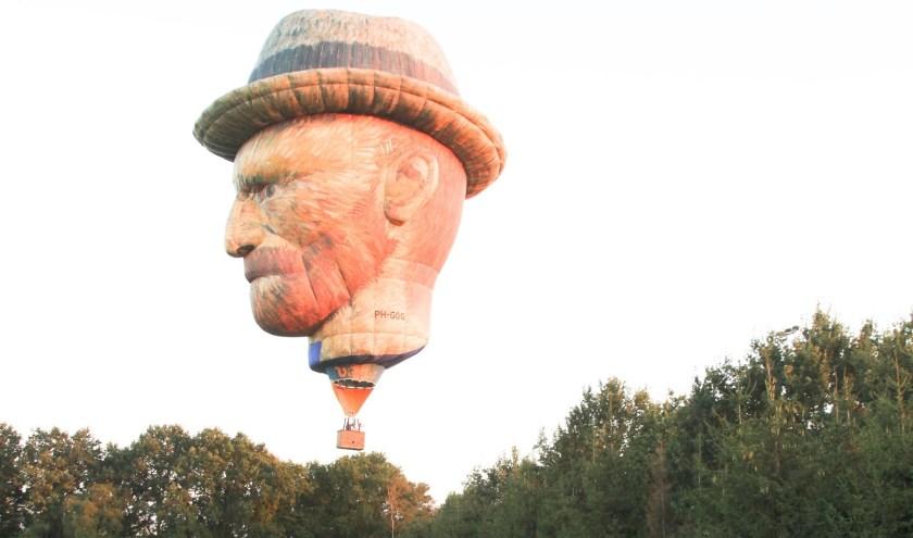 De 'Vincent van Gogh' komt naar Gemert. Foto Frans Brzoskowski
