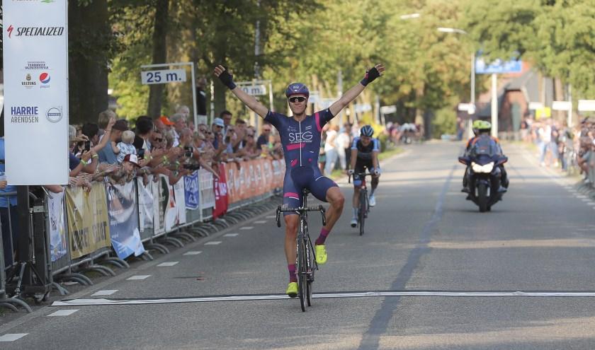 Cees Bol won vorig jaar de Ronde van de Achterhoek. (foto: Dick Soepenberg)