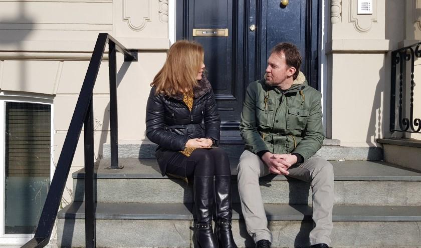 Ellen en Jurgen samen in gesprek. Foto: Moviera