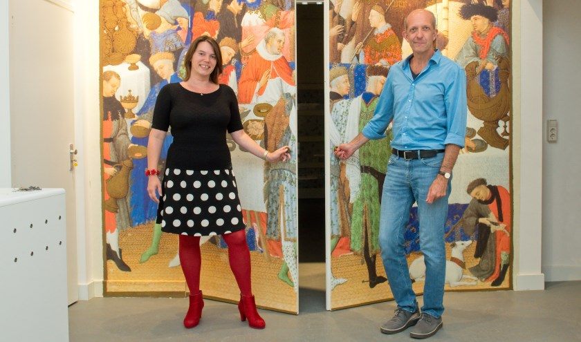 Rosalie en Peter heten vanaf 25 augustus iedereen van harte welkom in het Gebroeders van Lymborch Huis. (Foto: Maaike van Helmond)