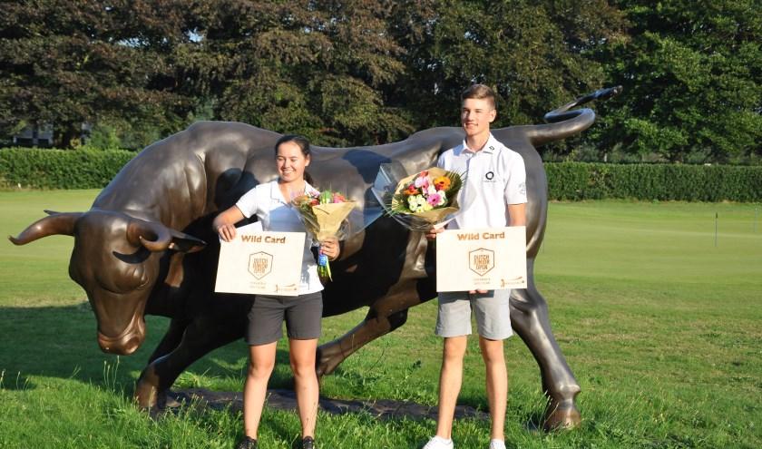 Tom van Balen en Sophie Muljono winnen het Haenen Jeugd Open.