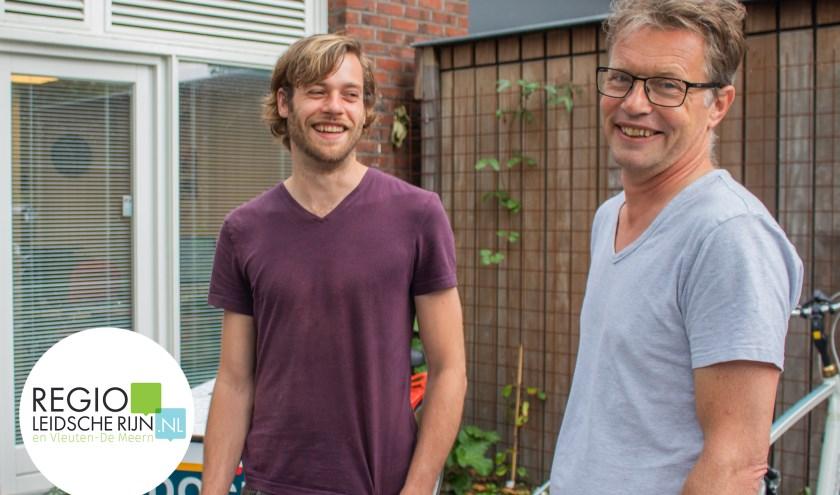 v.l.r. Stagebegeleider Boris van Lieshout en docent Eelco Koot.