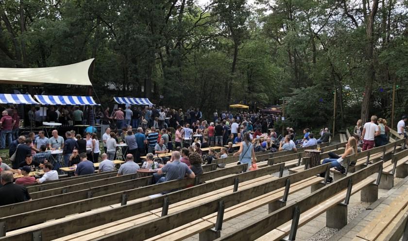 Bier in ' Bos 2018. Foto: Rick Groenen