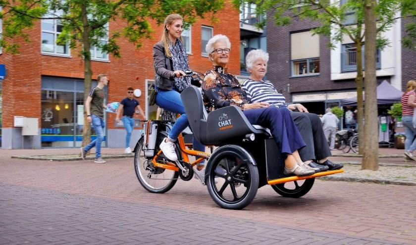 Chat riskja fiets – Van Raam wint Eurobike Gold award.