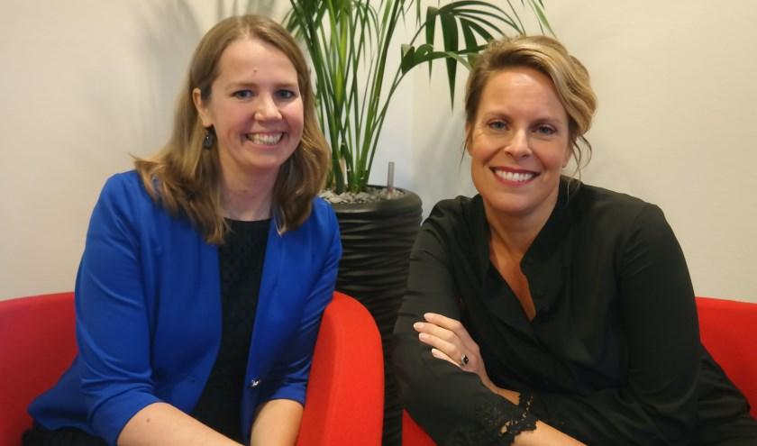 Marith Vos (links), Marlinde de Vos- van der Eijk (rechts)