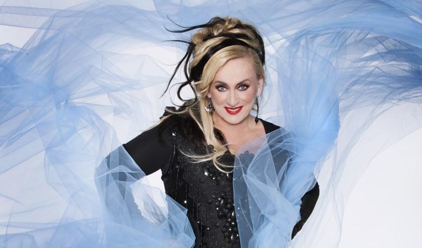 Karin Bloemen treedt vrijdag 20 september op in Veluvine. Het eerste optreden in het nieuwe seizoen. (Foto: Nick van Ormondt)
