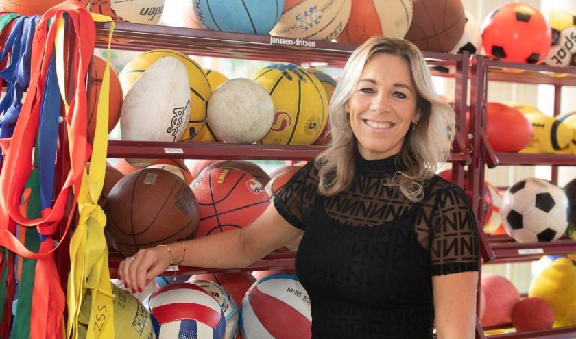 """Jolanda van der Veer, directeur van Sportservice Zwolle. """"Sport is toegankelijker geworden voor iedereen"""", zegt ze. (foto: Frans Paalman)"""
