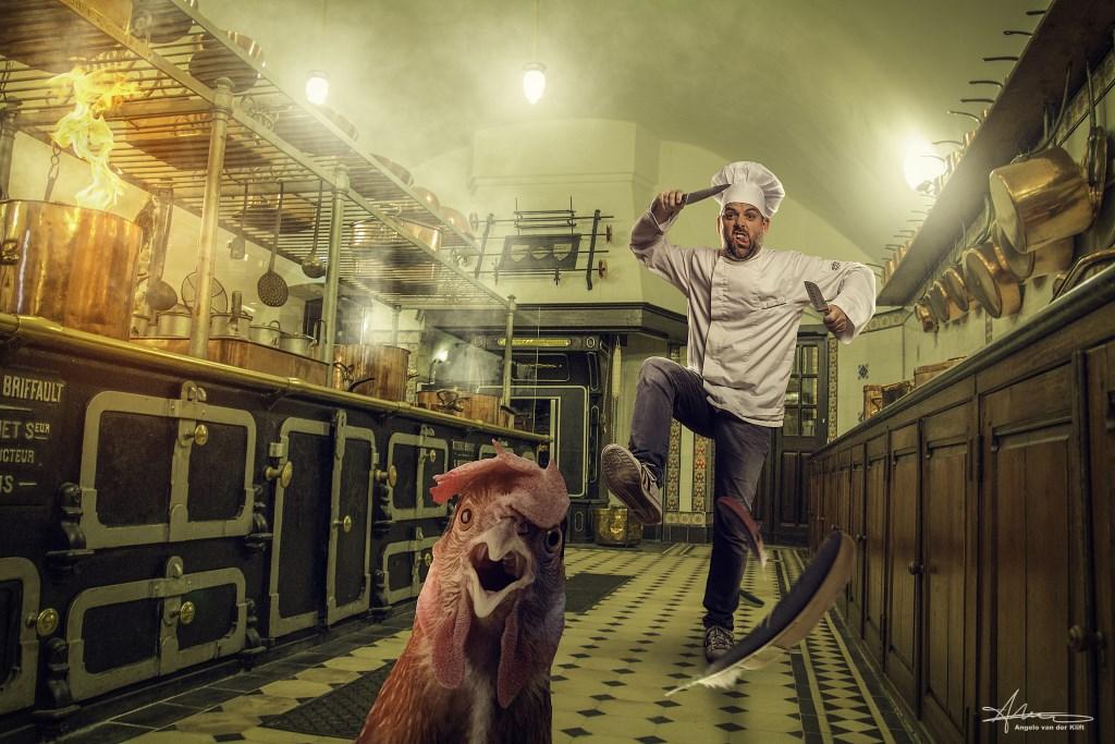 Ook humor is belangrijk in een foto Foto: Angelo van der Klift © DPG Media