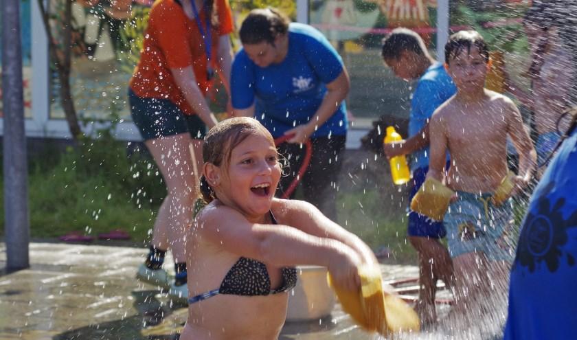 Veel buitenspelen tijdens het Vakantiebos. Foto: Yanka.