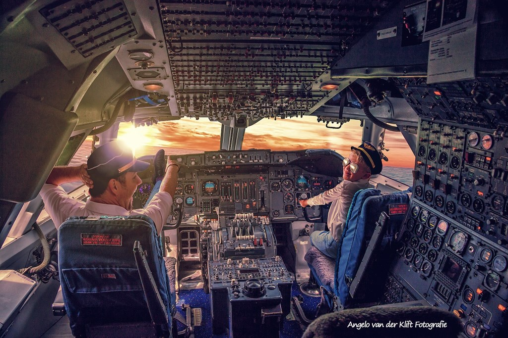Piloot zijn van een Jumbojet? Alles kan! Foto: Angelo van der Klift © DPG Media
