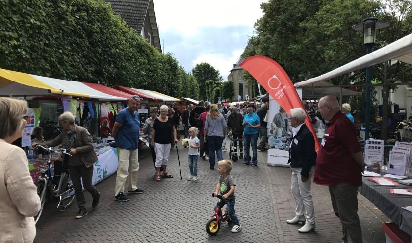 De Culturele Pleinmarkt in Epe is ieder jaar druk bezocht. Dit keer vindt deze markt op 14 september plaats.