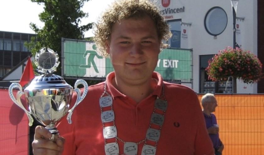 De winnaar Thomas ten Velde