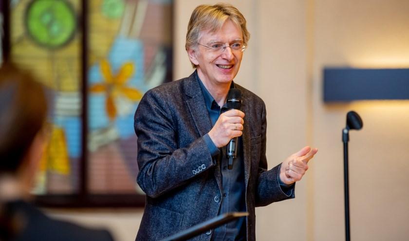 Jan Gruiters is een van de sprekers tijdens de Vredesweeklezing. Foto: Lize Kraan.