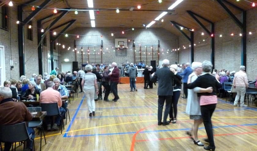 De Feestlocatie van de feestmiddag die  Rijnwaarden50plus houdt op zaterdag 12 oktober.