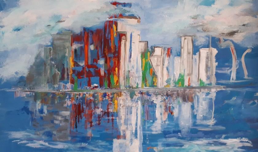 View on Rotterdam
