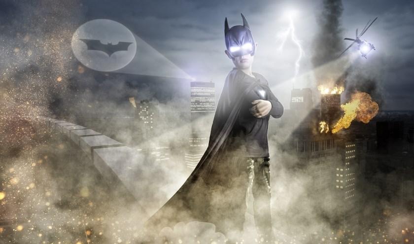 Batman in Rotterdam, met zijn zoon in de hoofdrol