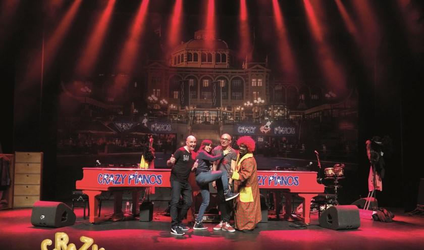 Een rit in een muzikale achtbaan met de allergrootste guilty pleasures tijdens een feestelijke show van Crazy Pianos in het Isala.