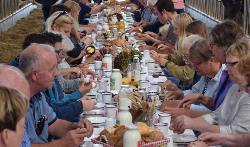 Zondag 15 september kan er ontbeten worden bij sierteeltkwekerij Kools in Deurne.