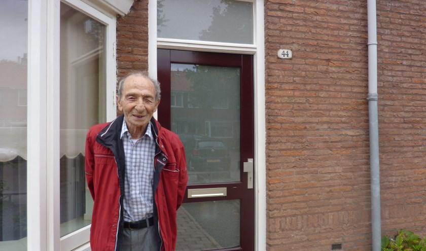 Elk jaar op 17 september keert Samuel Rubens terug naar zijn ouderlijk huis. (foto: Hilde Wijnen)