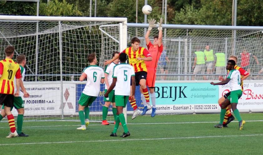 Aarlanderveen gaat voor het eerst in de historie in de derde klasse voetballen.