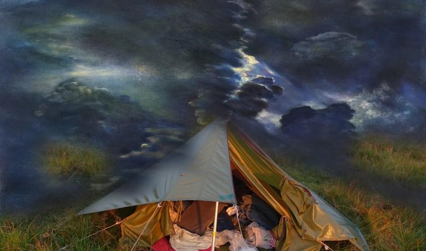 30 jaar wandelen op Dartmoor - expositie Paulien Wittenrood