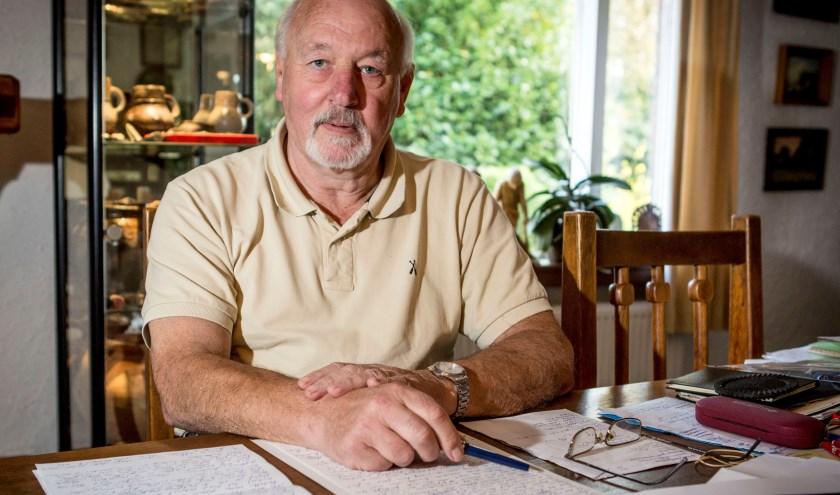 Coen heeft een grote bijdrage geleverd aan de cultuurhistorie van Twente, die hem de Mans Kapbaargprijs opleverde (foto: R. Hilberink)