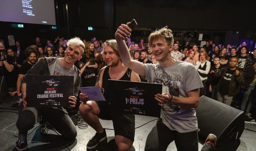 In de categorie Bands won de alternatieve rockband Charades. Foto: Danny van der Weck.